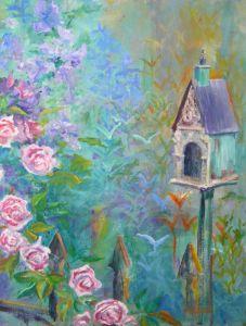 Birdhouse in My Garden