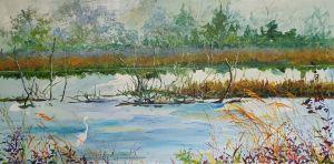 Spring Bluff Egret