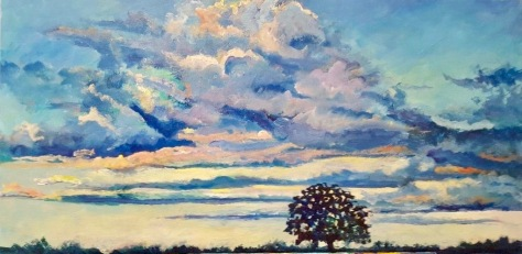 Bur Oak Silhouette (1)