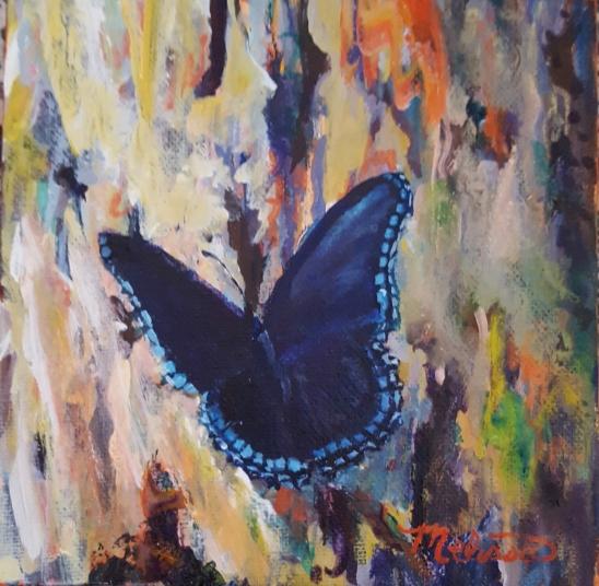 Bark Basking Butterfly